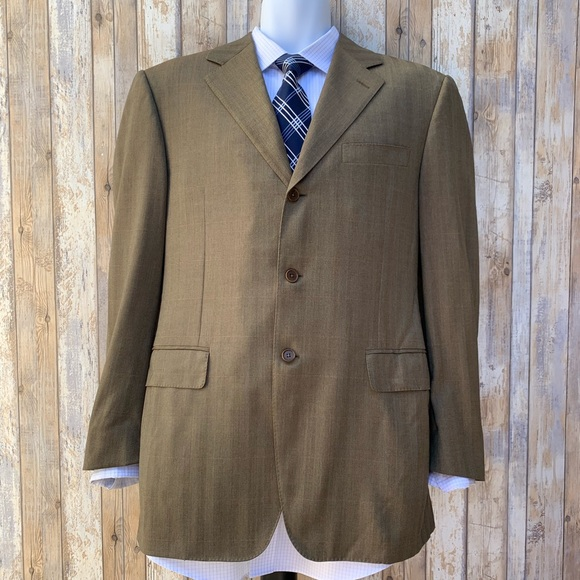 Canali Other - Canali Herringbone All Season Sport Coat / Blazer